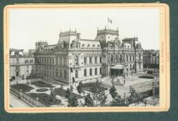 Photo Fin XIXème 69 Rhône Lyon La Préfecture Tirage Albuminé Ca. 1899 - Photos