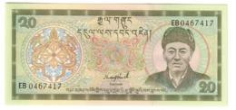 BHUTAN20NGULTRUM1992P16UNCS/N 2 Letter Prefix.CV. - Bhutan