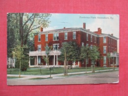 Frederica Flats - Kentucky > Owensboro>  Ref 3677 - Owensboro