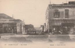Rare Cpa Ferryville La Rue Hoche - Túnez