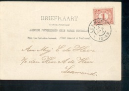 Lexmond Leksmond - Grootrond - 1904 - Marcophilie