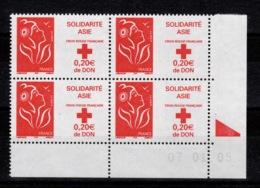 Coin Daté - YV 3745 N** Coin Daté Du 07.01.05 - 2000-2009