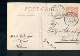 Naardenburg - Leewarden Meppel C - Grootrond - 1908 - Marcophilie