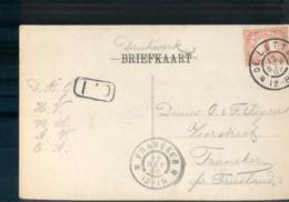 De Lutte Grootrond Franeker - 1906 - Marcophilie