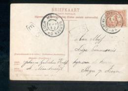 Bergen Op Zoom Grootrond St Maartensdijk - 1907 - Marcophilie