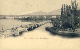 1899-Svizzera Geneve Et Le Mont Blanc - Switzerland