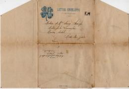 TB 2666 - Lettre - Enveloppe En Franchise Militaire - Soldat LOUP Au 49 è Rgt D'Artillerie à REVIGNY Pour RIVE DE GIER - Guerre De 1914-18
