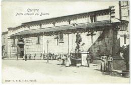 Carrara. Porte Laterale Del Duomo. - Carrara