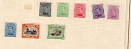Timbres Belgique  1915/20        X - Belgio