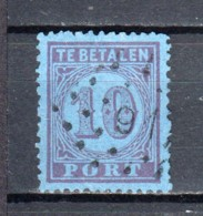 Netherlands 1870 NVPH Port P2B Canceled - Impuestos