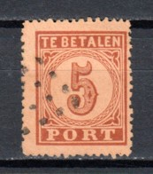 Netherlands 1870 NVPH Port P1 Canceled - Impuestos