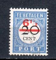 Netherlands 1906 NVPH Port P30 Canceled - Impuestos