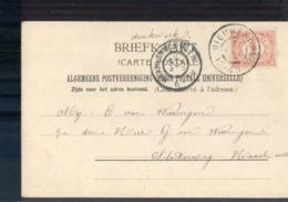 Nieuwerbrug Grootrond - 1905 - Postal History