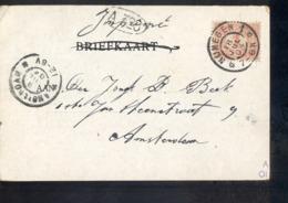 Nijmegen 1 Grootrond - 1904 M - Marcophilie