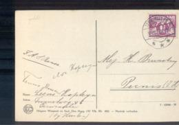 Terwinselen Langebalk - 1920 - Marcophilie