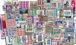 Départ 1 Euro  Collection De + 120 Blocs COTE + 500 Euros Jeux Olympiques (olympic Games) Animaux Thématique - Topics - Sammlungen (im Alben)