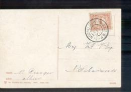 Noord Scharwoude Grootrond - 1908 - Marcophilie