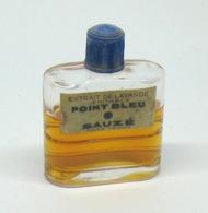 """Flacon De Parfum Ancien - SAUZE """"Point Bleu"""" Extrait De Lavande - Fragrances"""