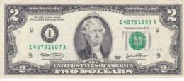 BILLETE DE ESTADOS UNIDOS DE 2 DÓLARES DEL AÑO 2003 SERIE I (BANK NOTE) - Biljetten Van De  Federal Reserve (1928-...)