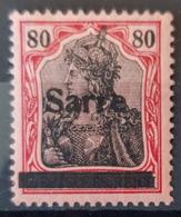 SARRE / SAARGEBIET 1920 - MLH - Mi 16 - 1920-35 Saargebiet – Abstimmungsgebiet