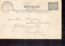 Brantgum - Grootrond - 1904 - Poststempel