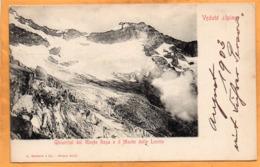 Monte Rosa Vedute Alpine Italy 1900 Postcard - Unclassified