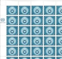 NATIONS UNIES (New York) 1957: 2  Feuilles Entières De 50 T.P. Neufs** (Y&T 50-51), à Tout Petit Prix ...  TB - New York -  VN Hauptquartier