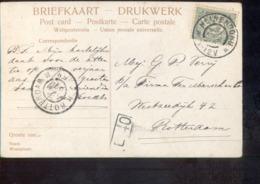 Heinenoord - Grootrond - 1906 - Marcophilie