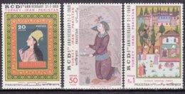 """1969-(MNH=**) Turchia S.3v.""""Quadri,cooperazione Con Iran E La Turchia"""" - 1921-... Republic"""