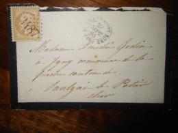 Enveloppe GC 3487 Saint Amand Montrond Cher - 1849-1876: Période Classique