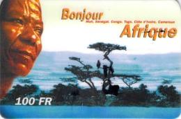 Carte Prépayée - BONJOUR AFRIQUE- 100 FF - Frankrijk