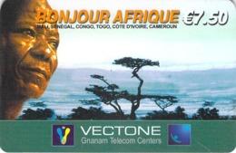 Carte Prépayée - BONJOUR AFRIQUE- 7.5 € - Frankrijk