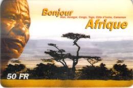 Carte Prépayée - BONJOUR AFRIQUE- 50 FF - Francia