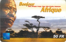 Carte Prépayée - BONJOUR AFRIQUE- 50 FF - Andere Voorafbetaalde Kaarten