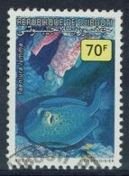 Djibouti, Fish, Bluespotted Ribbontail Ray, 1990, VFU - Djibouti (1977-...)