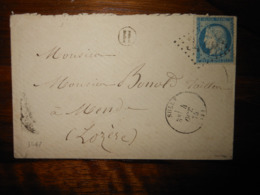 Enveloppe GC 3468 Sully Loiret - 1849-1876: Période Classique