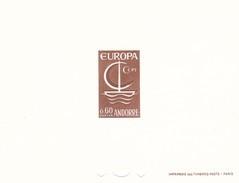 Andorra Francesa Nº 178 En Prueba - Europa-CEPT