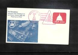 USA 1982 Space / Raumfahrt Space Shuttle  Interesting Cover - Stati Uniti