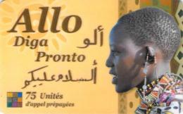 Carte Prépayée -  ALLO DIGA PRONTO  - 75 UNITES - Andere Voorafbetaalde Kaarten