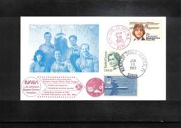USA 1983 Space / Raumfahrt Space Shuttle Interesting Cover - Stati Uniti
