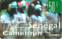 Carte Prépayée -  CONGO O -  50 F - Andere Voorafbetaalde Kaarten