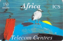 Carte Prépayée -  AFRICA  ICS  - TELECOM CENTRES  -  150 UNITES - Andere Voorafbetaalde Kaarten