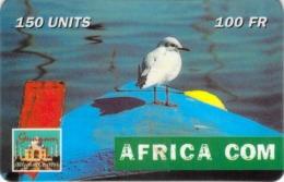 Carte Prépayée -  AFRICA  COM  -   -  150 UNITES - Andere Voorafbetaalde Kaarten