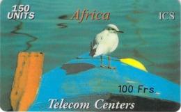 Carte Prépayée -  AFRICA  TELECOM CENTER  ICS  -   -  150 UNITES - Frankrijk