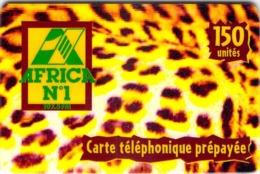 Carte Prépayée -  AFRICA N° 1  -   -  150 UNITES - Francia