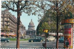 La Place Ed. Rostand, La Rue Soufftot Et ( Automobile - Traction Citroen - 403 Break - Aronde ) C.p.s.m. - Grand Format - Places, Squares