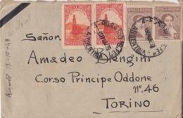 512 -  - STORIA POSTALE - BUSTA - ROSARIO - SANTA FE (ARGENTINA) A TORINO - Storia Postale