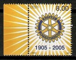 Estonia 2005 / Rotary International MNH / Cu14302  34-7 - Rotary, Lions Club