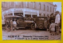 8891 -  2e Salon De La Carte Postale Aumale 1982 - Bourses & Salons De Collections