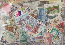Amerika Briefmarken-500 Verschiedene Marken - Sammlungen (ohne Album)